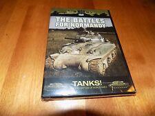 THE WAR FILE TANKS Battles For Normandy D-Day Armor Battle World War II DVD NEW