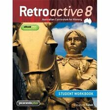 Retroactive 8 Australian Curriculum for History Student Workbook FREE SHIPPING