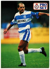 Ray Wilkins Queens Park Rangers #95 Pro Set Football 1991-2 Trade Card  (C364)