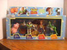 Disney Original Toy Story Action Figures Gift Set - Hamm, Buzz, Woody, Rex 1995