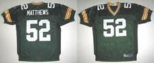 RBK GREEN BAY PACKERS CLAY MATTHEWS AUTHENTIC GREEN HM JERSEY 50
