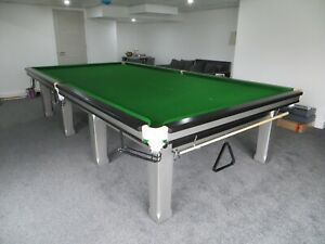 Modern Full Size Snooker Table with Free Professional Delivery and Installation