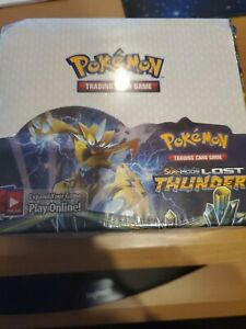 Pokemon Lost Thunder Booster Box Sealed -PROXY