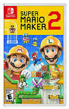 Super Mario Maker 2 -- Standard Edition ( Nintendo Switch , 2019) BRAND NEW