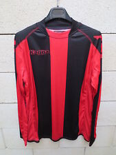 Maillot football KAPPA rouge noir manche longue XL