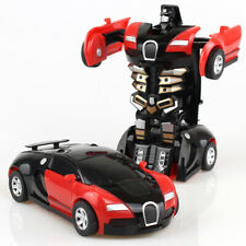 Robot Car Baby Gift Automatic Kids Toys Toddler Vehicle Cool Toy Transformers