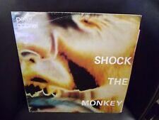 "Peter Gabriel Shock the Monkey b/w Soft Dog 12"" Charisma 1982 VG+"