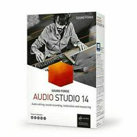 MUSIC&AUDIO RECORDING SOFTWARE FOR PC - EDITING STUDIO MP3 SOUND Sound Forge