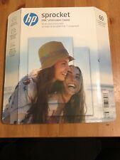HP Zink Sprocket Sticker Sticky Back Photo Paper 3 Pack - Brand New!