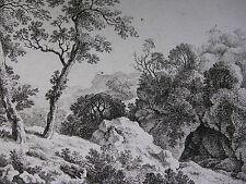 F. RECHBERGER ´LANDSCHAFT NACH C. W. E. DIETRICH (DIETRICY); LANDSCAPE 1´  ~1800