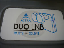 LNB DOPPIO ILLUMINATORE nuovo WNC Universal Monoblock Quad LNBF