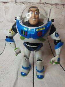 Toy Story Buzz Lightyear Galactic Defender Blue Black 2001 Rare