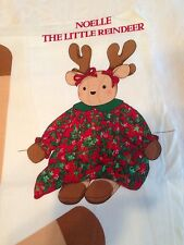 VIP Cranston Print Works Noelle The Little Reindeer Fabric Panel Doll Pattern