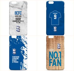 Personalised BIRMINGHAM CITY Football Club FC Phone Case iPhone Samsung Cover