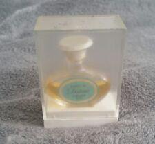 Petit flacon miniature parfum cheramy dédicace avec boîte plastique vintage rare