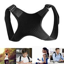 Back Posture Corrector Shoulder Straight Support Brace Belt Therapy Men Women