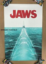 Jaws Movie Screen Print Poster #9/150 By Doaly Mondo Artist Free Fedex