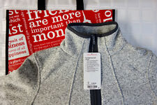 NEW Lululemon -- It's Fleecing Cold Jacket -- Zippered -- SOLD OUT -- Size 10