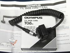 OLYMPUS TTL SHOE CORD T0.6m  (for OM-SLR + T32/T45/T Power Control 1) - NEW