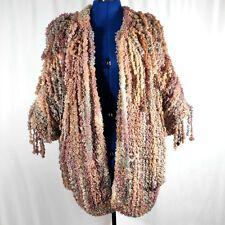 Maranatha Originals Corded Knit Sweater Handknit Dreadlocks Komondor Ooak M/L