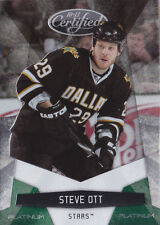 10-11 Certified Steve Ott 5/5 Mirror Platinum Emerald Green 2010