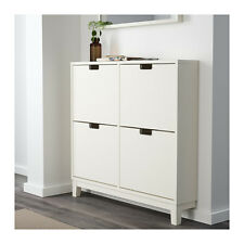 Ikea Stall Shoe Cabinet Storage - 4 compartments - White