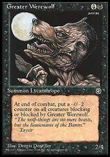 ▼▲▼ Greater Werewolf (Grand loup-garou) HOMELANDS #64 ENGLISH Magic