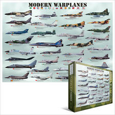 EG60000076 - Eurographics Jigsaw Puzzle 1000 Pieces - Modern Warplanes