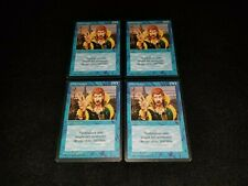 MTG 4x Revised blue uncommon MP Italian FBB Counterspell - ships w/ tracking