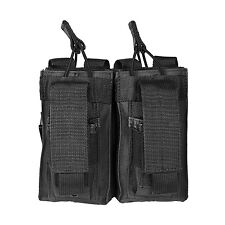 NcStar BLACK Double AR Style 5.56/223 or 7.62x39 & 2 Double Stack Pistol Mags