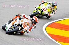 Marco Simoncelli San Carlo Honda Gresini Moto GP Aragon 2010 Photograph 2