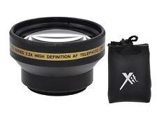 2.2x Alta Definición Lente Telefoto para Sony HDR-PJ30V HDR-PJ50V HDR-CX305e