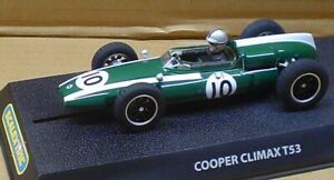 SCALEXTRIC 1:32 C2729 COOPER CLIMAX 1960 No.10 (QTY 1) - NOS