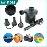 Electric Portable Air Pump for Inflatables Air Mattress Raft Bed Boat Pool Toy