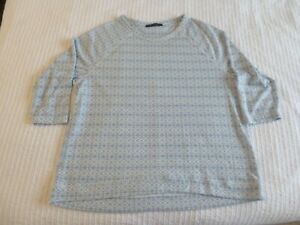 M&S top/t.shirt blue size 16