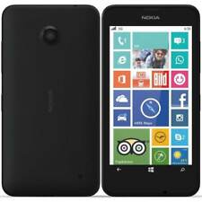NOKIA LUMIA 630 BLACK 8GB SMARTPHONE MOBILE WINDOWS PHONE LOCKED TO O2