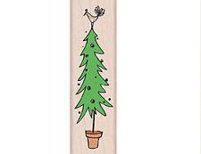 "HERO ARTS ""PARTRIDGE TREE"" RUBBER STAMP"
