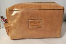 Cavalcanti Leather Camera, Dopp, Cosmetic Case – Natural – NWT