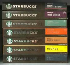 Starbucks Coffee Capsules Assorted Flavour Nespresso Compatible 10 Pods NEW