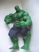 Incredible Hulk action figure 12 inch Poseable Marvel comic Hero fabric shorts