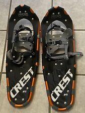 Powderidge Snowshoes CREST 25  8x25 Aluminum Snow Shoes