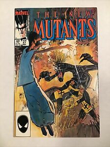 The New Mutants #27 VF/NM 9.0 (May 1985, Marvel)