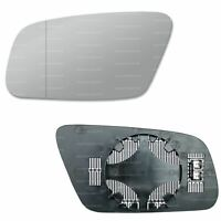Right hand driver off side convex mirror glass Audi A2 Mk1 1999-2005 338RS
