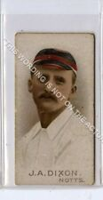 More details for (gb2140-495) wills, cricketers 1896, j.a.dixon, notts g-vg