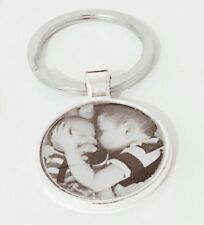 Personalised Custom Photo Keyring Chain - Gift Present Mothers Valentines Day