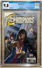 Champions #1 1:100 Alex Ross CGC 9.8 - Miles Morales Ms Marvel Kamala Khan Nova