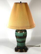 WMF Ikora Metall Lampe ° Art Deco Tischlampe ° Dekor Haustein Schule (Z) (7)