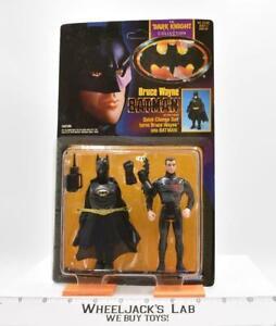 Bruce Wayne Batman Quick Change MOSC NEW The Dark Knight Collection Batman1990