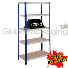 1 x HEAVY DUTY Racking Storage Metal Shelving Warehouse Bay For Garage Workshop
