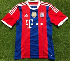 Bayern München Trikot Gr. M FCB Saison 2014/2015 Adidas Heim CL 2013 Patch